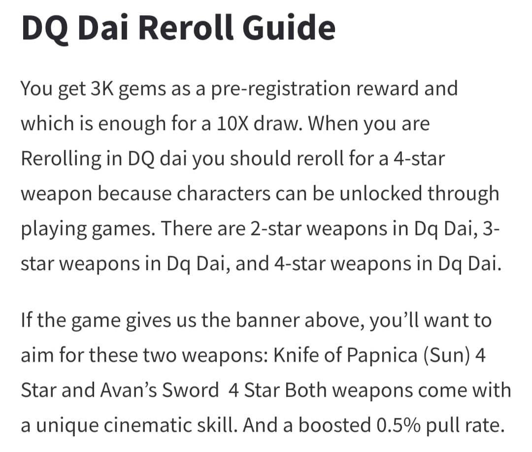 Dragon Quest the Adventure of Dai - Reroll