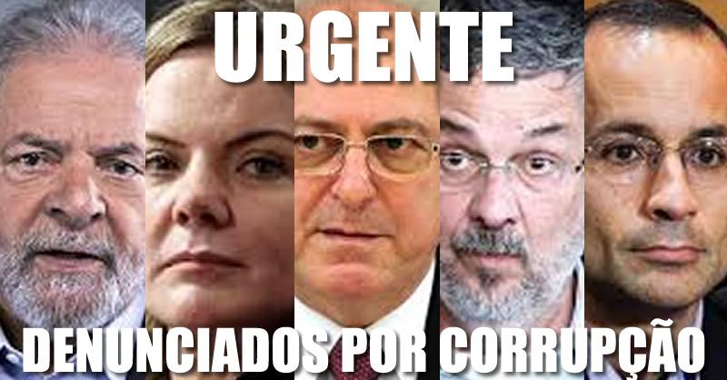 Resultado de imagem para PGR apresenta ao Supremo nova denúncia contra Lula, Gleisi, Paulo Bernardo e Marcelo Odebrecht