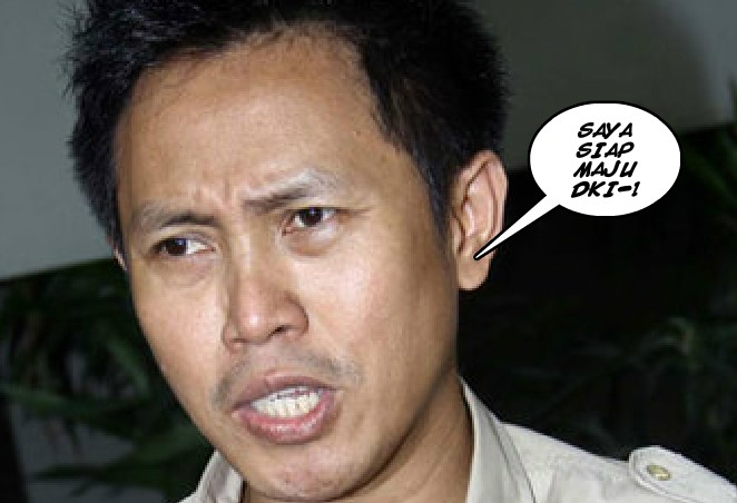 AMIMAZDA.COM - EKO PATRIO: Saya Sangat SIAP Jika diminta Partai Maju DKI-1