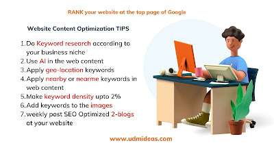 web content optimization seo agency near me in NYC USA