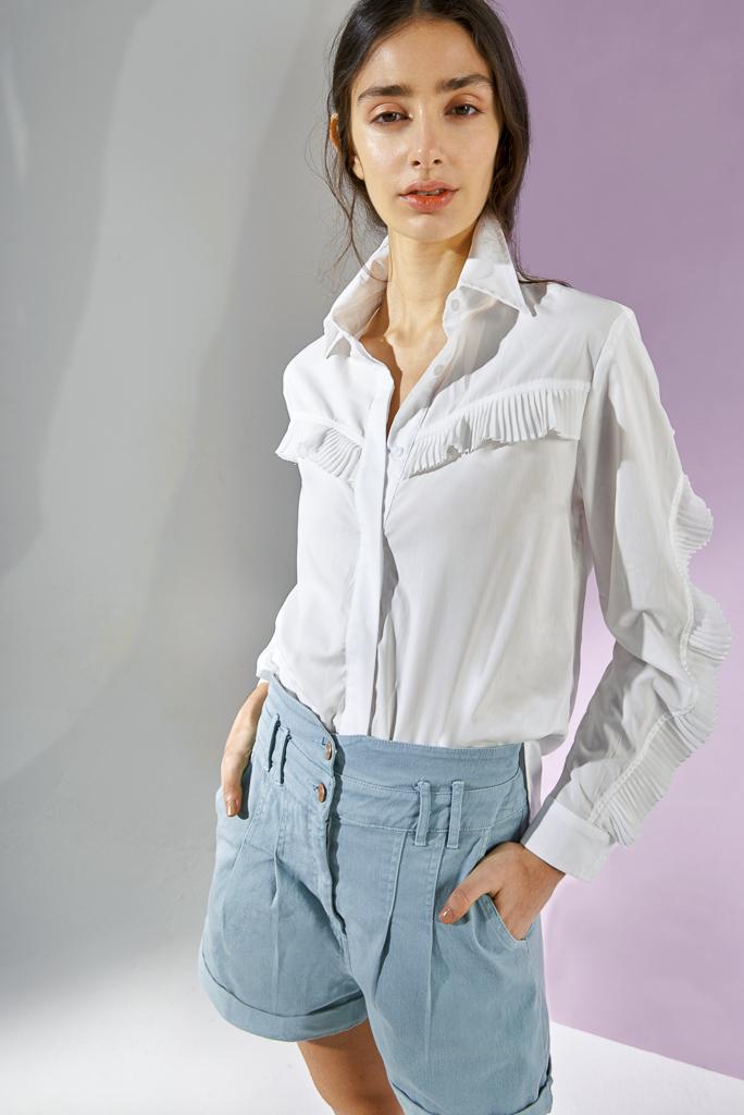 camisas de mujer blancas verano 2021