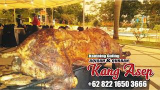 wisata kuliner mewah ! kambing guling kang asep lembang