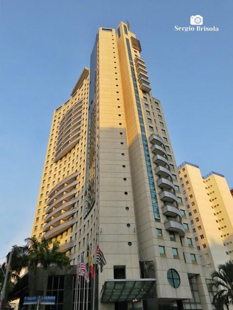 Vista ampla do Hotel Meliá Jardim Europa - Itaim Bibi - São Paulo