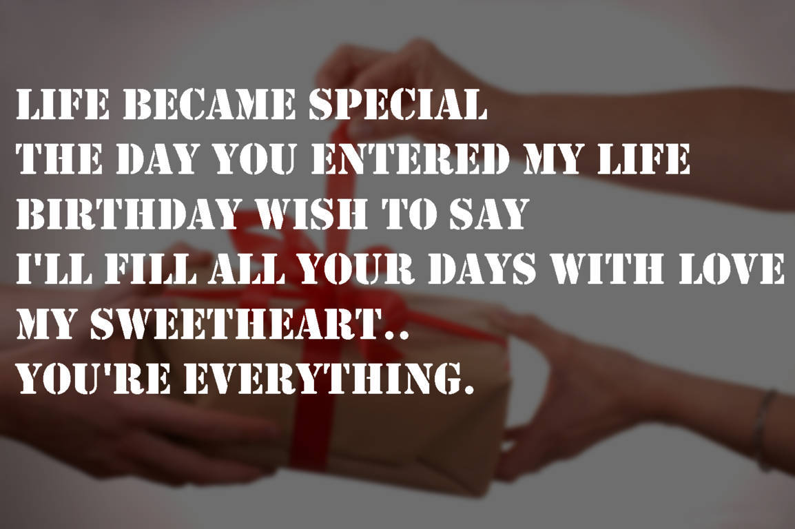 Valentines Day Quotes For Girlfriend Special Quotes For Gf Bf On Birthday Wishes With Images  New Mounts