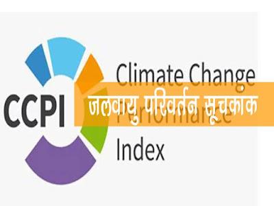 जलवायु परिवर्तन प्रदर्शन सूचकांक-2021  Climate Change Performance Index -2021`