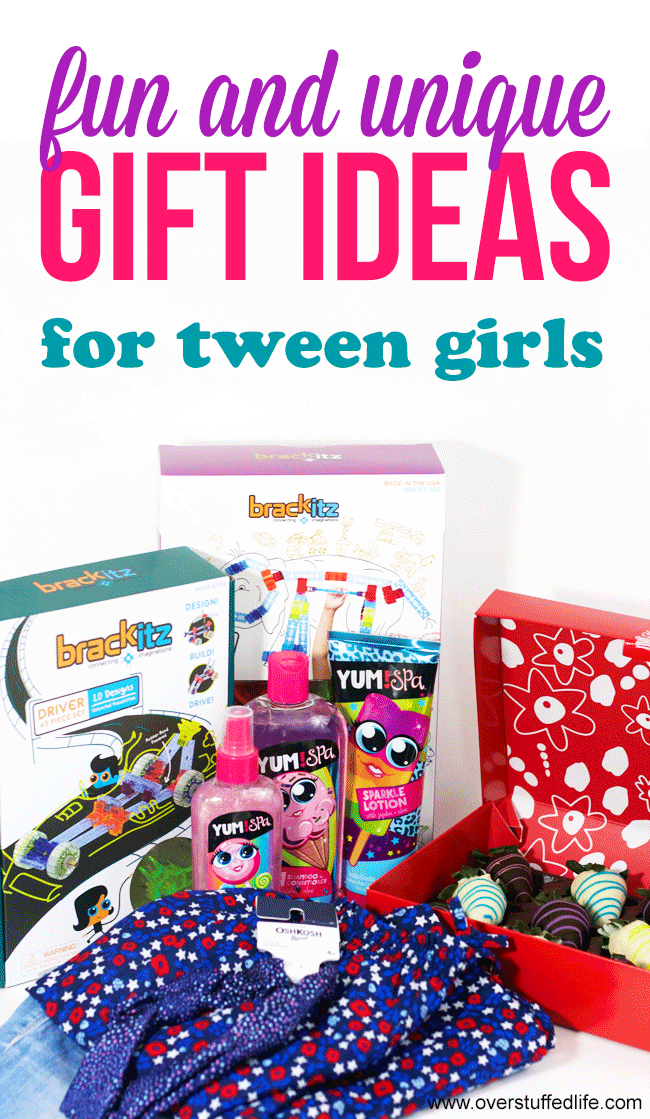 Fun And Unique Gift Ideas For Tween Girls Overstuffed