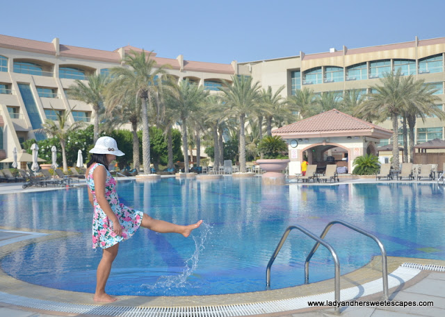 Al Raha Beach Hotel outdoor pool