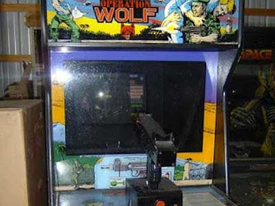 Operation Wolf: il cabinato arcade con mitragliatrice