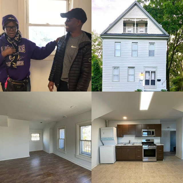 Nigerian Instagram comedian Gifts his Parents a House in the US (Videos)
