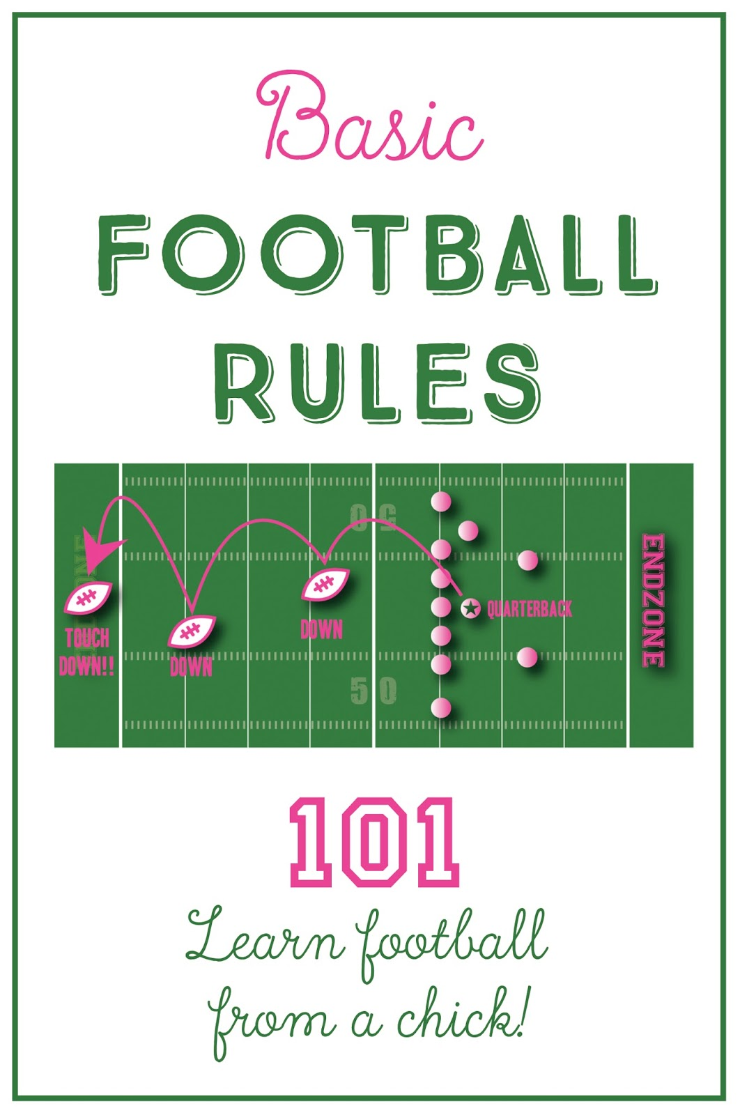Chick 101 Football For Girls