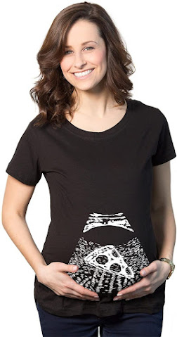 Unique Funny Sayings Novelty Maternity T Shirts