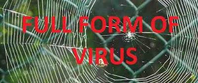 full form of virus