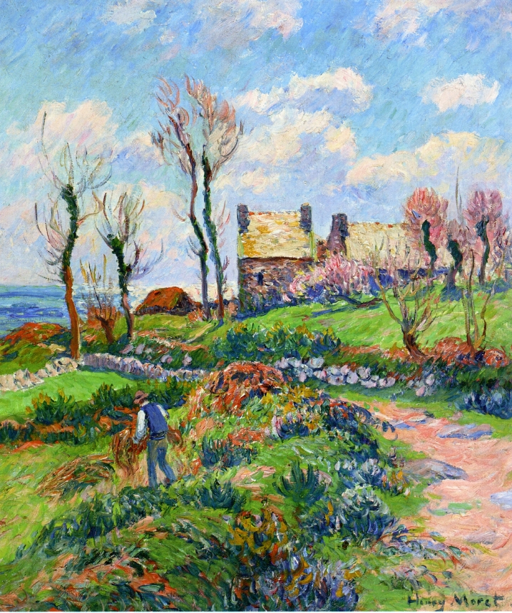 Paintings of Spring: Henry Moret (12 decembrie 1856 - 5 mai 1913), pictor  impresionist francez