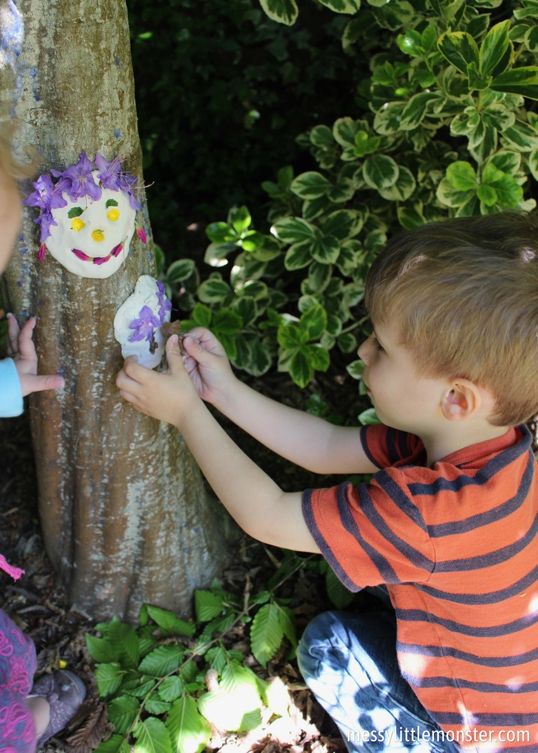 outdoor art for kids