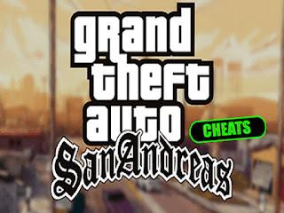 Kumpulan Cheat GTA San Andreas PC Lengkap