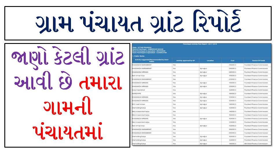 Gram Panchayat Work Report All State App For Android Smartphone User