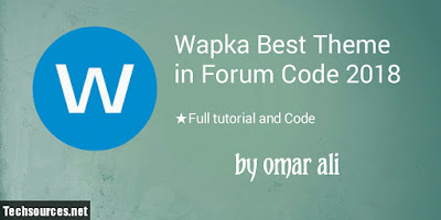 Wapka theme in forum code