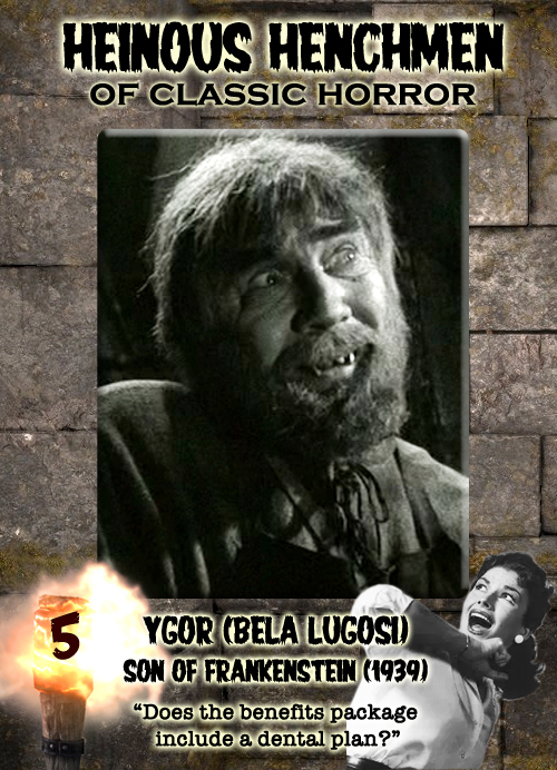 Bela Lugosi as Ygor in Son of Frankenstein, 1939