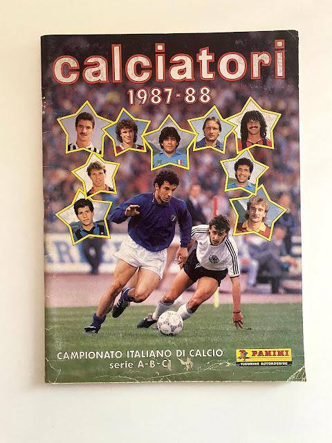 album calciatori panini 87/88