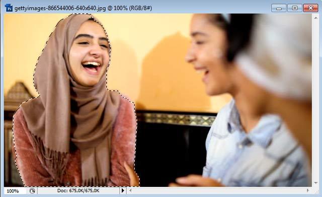 Cara Menghapus Background Foto dengan Quick Selection di Photoshop 226