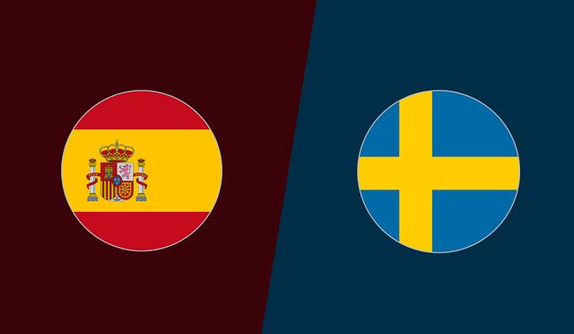 مشاهدة مباراة السويد واسبانيا
