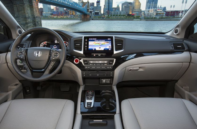2016 HONDA PILOT ELITE INTERIOR