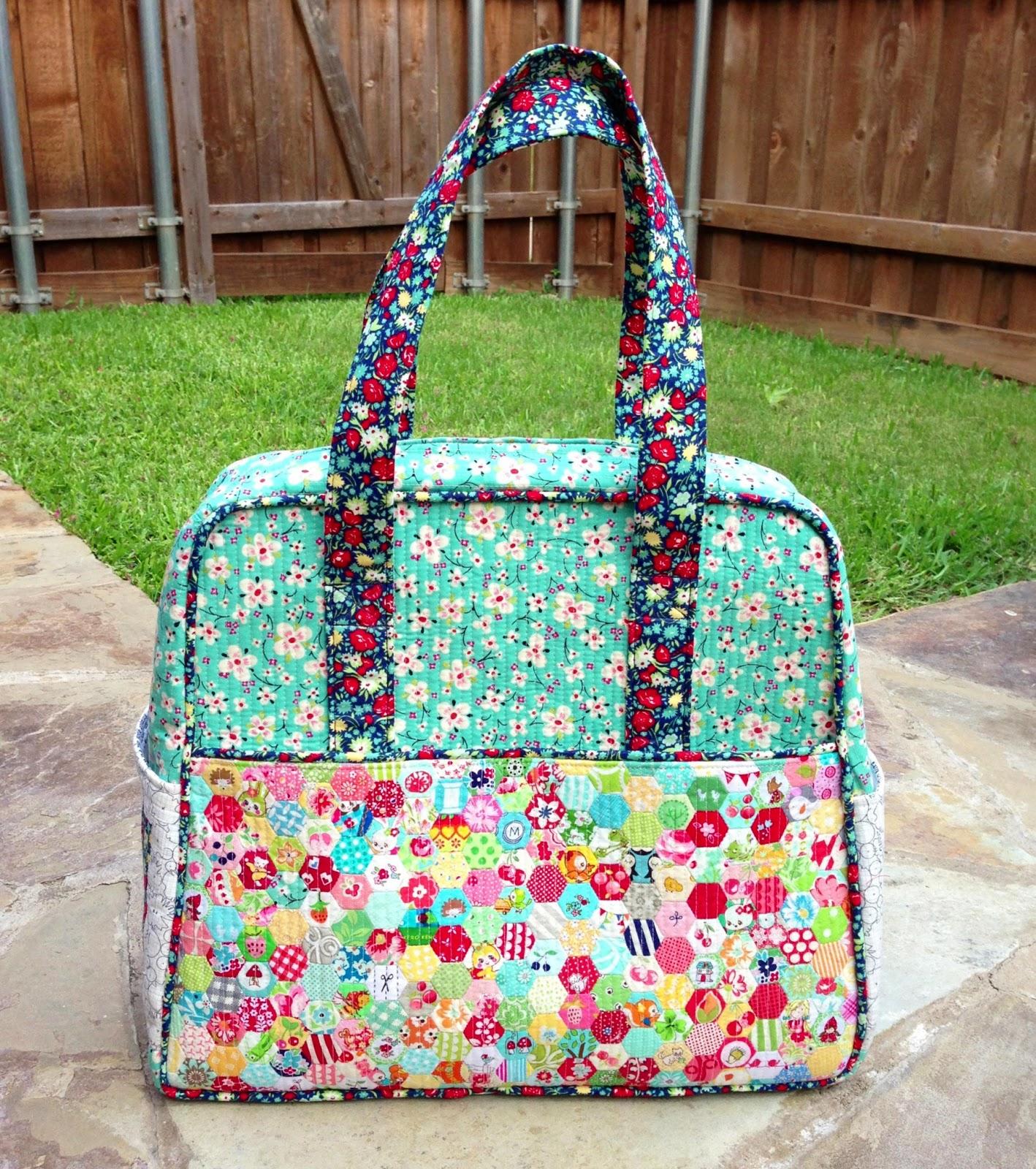 Three Owls Handmade: Weekender Bag Tips and Modifications - Part 1 ... : quilted weekender bag - Adamdwight.com