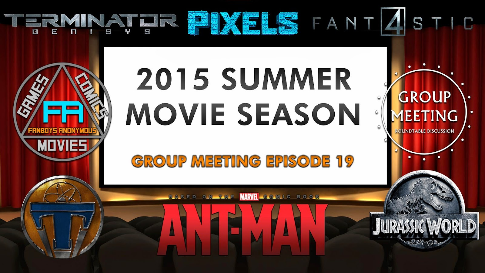 2015 Summer Movies lineup podcast