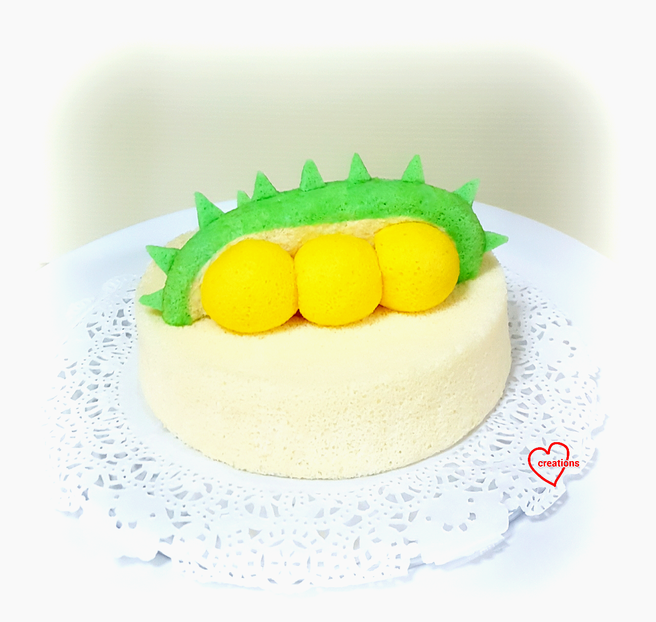 Loving Creations for You Durian Durian Cottony Cake early