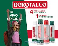 """Borotalco """"Io vivo original"""" : operazione di cashback ( fino a un massimo di euro 6,95)"""
