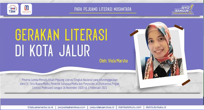 Gerakan Literasi di Kota Jalur