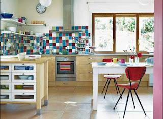 fliesenspiegel küche landhausstil