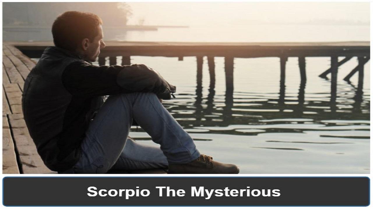 Scorpio man pulling away