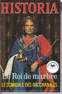Revue Historia, 387 1979, le roi de marbre