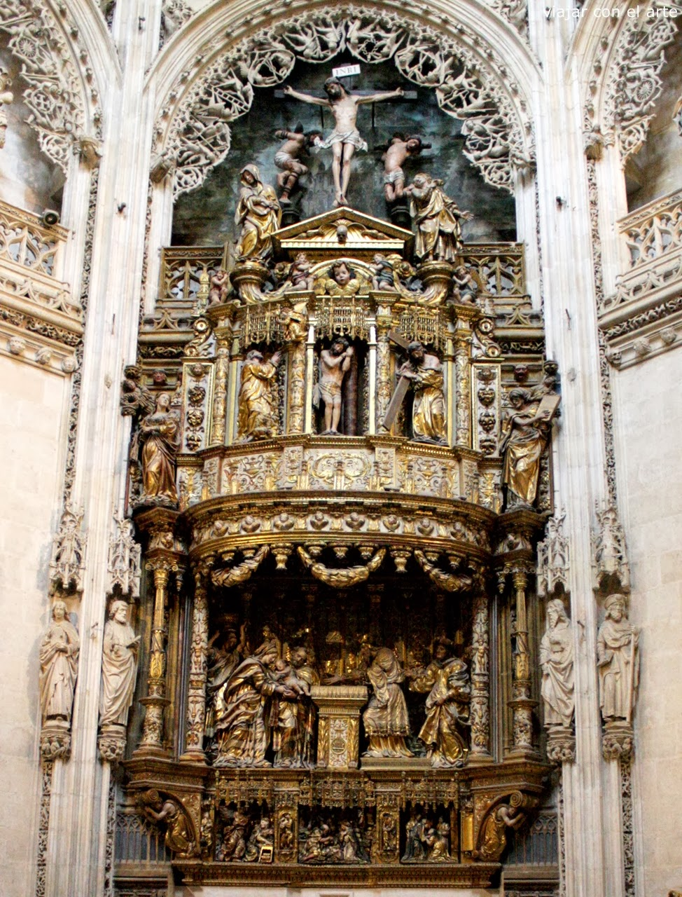 Retablo  mayor Condestables