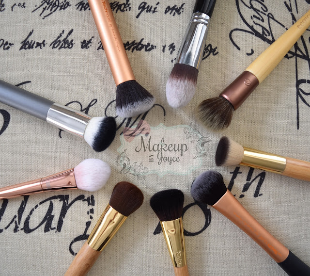 synthetic buffing foundation brushes review
