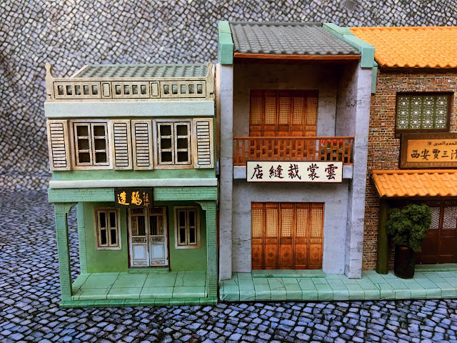 28mm Chinese MDF Building: Dragonfrog Asian Shop 5