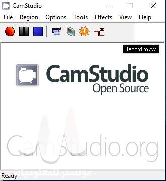 برنامج تصوير الشاشة المجاني CamStudio