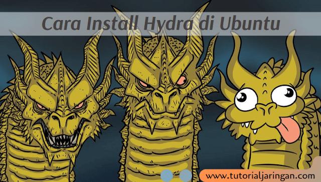 Tutorial Cara Install Hydra di Ubuntu