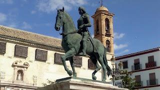 Estatua de Fernando de Antequera, en Antequera (Málaga)