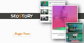 SeoStory Тема для Blogger