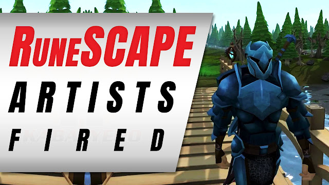 RuneScape Artist Fired By Red-Faced Managers • Crazy Gaming News