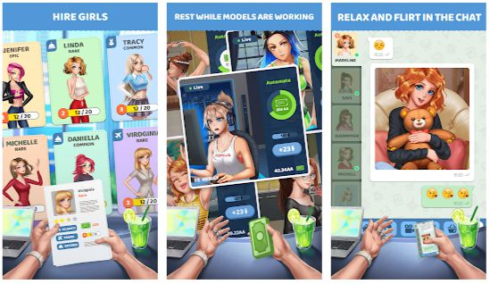 Streamgirls Inc Mod Apk