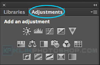 fungsi panel adjustment photoshop