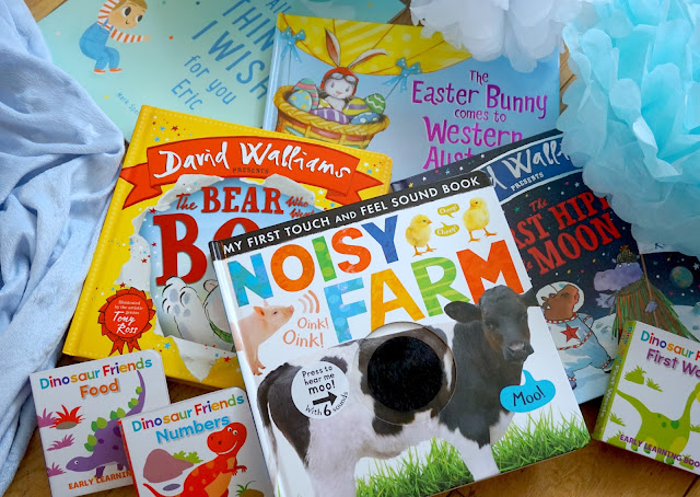 selection of books for babies