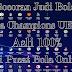 Bocoran Judi Bola Liga Champions UEFA