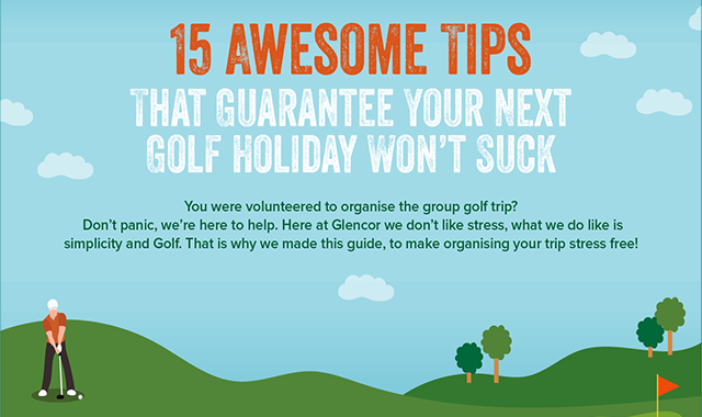 15 Steps to Make Sure You Have The Best Golf Holiday #infographic
