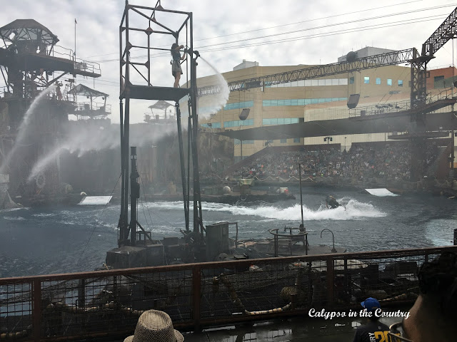 Waterworld - a must see attraction at Universal