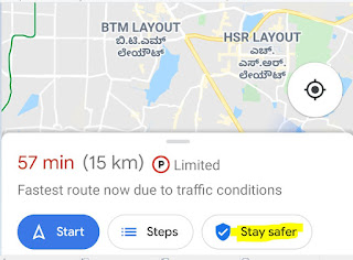 off-route-warning
