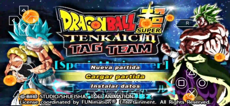 Dragon Ball Super PPSSPP ISO DBZ TTT MOD